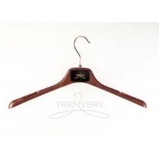 Вешалка плечики  ВОП-42/2,8 S2color(G)20517 (Молочный шоколад)  универсальная для любых типов одежды