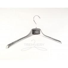 Вешалка плечики  ВОП-42/2,8 GPSM2(Серебро)  универсальная для любых типов одежды