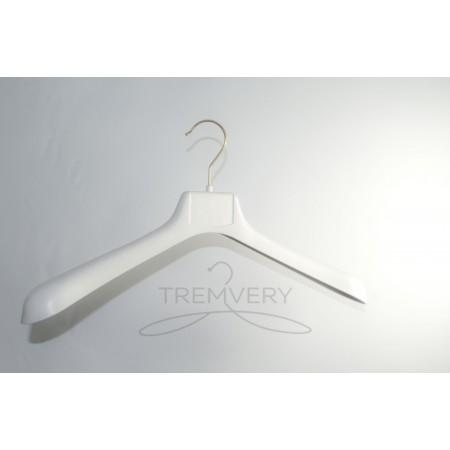 Вешалка с объемными плечами ВОП 47/6 S2white (белый кремовый)