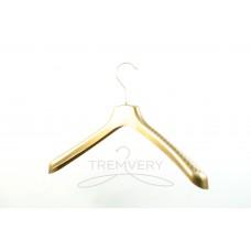 Вешалка с широкими плечиками  ВОП 40/5 GPPS2 (золотистый)
