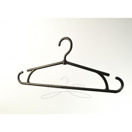 Вешалка для зимней одежды усиленная глянец P2black