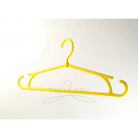 Вешалка для тяжелой одежды  Зимняя (желтый+5%)
