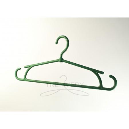 Вешалка для тяжелой одежды  Зимняя (зеленый)