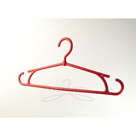 Вешалка для тяжелой одежды  Зимняя (красный)