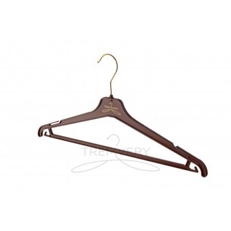 Плечики для костюма ВКР 40 S2color (G) (шоколадный)