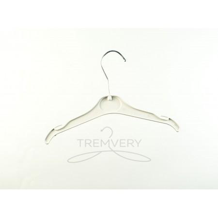 Вешалка для одежды пластиковая ВТ-2 (26 см) P2white