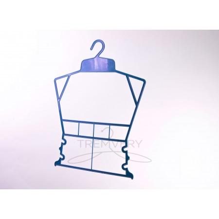 """Вешалка """"Рамка"""" для детской одежды (синий)"""