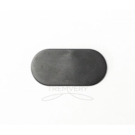 Таргетка-овал (пластинка под логотип) пластиковая для брендирования
