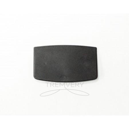 Таргетка-трапеция (пластинка под логотип) пластиковая для брендирования