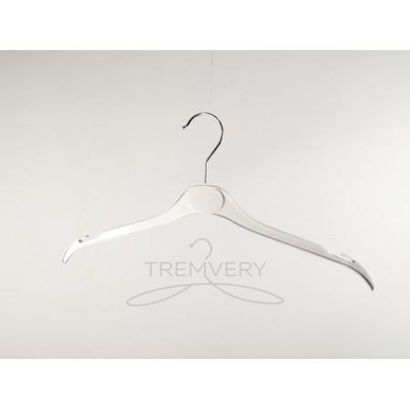 Вешалка для одежды пластиковая ВТ-2 (41 см) S2white TO