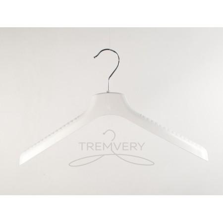 Вешалка плечики пластиковая  с широкими плечами  ВОП 42/4 S2white TO (белый)
