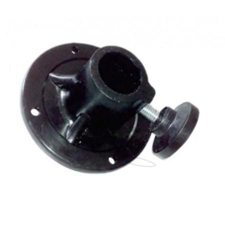 Фланец-стакан для крепления манекенов к треноге с трубой ф2,5 мм (без болта)