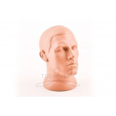 Mannequin head without hair