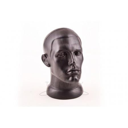 Манекен головы мужчины черный