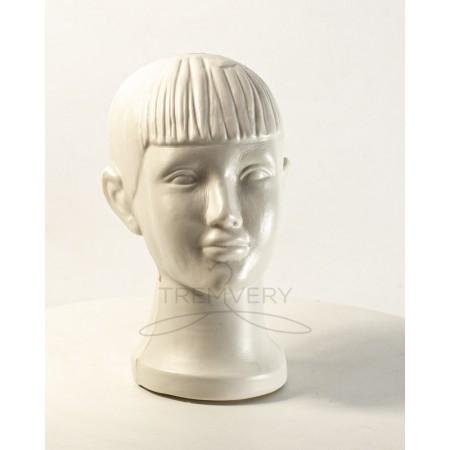 Манекен головы ребенка (белый)