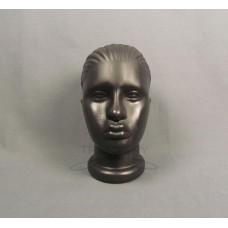 Манекен головы женской черный