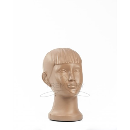 Манекен головы ребенка (Телесный)