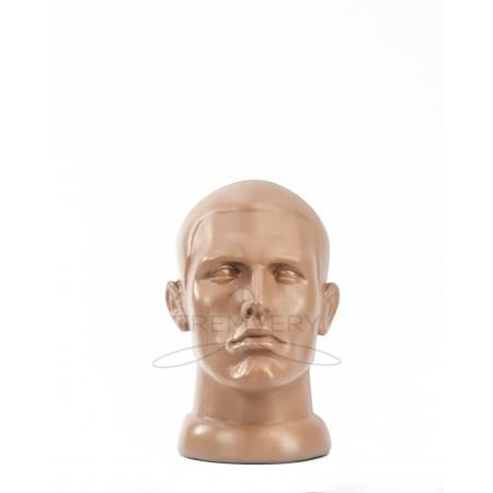 Манекен головы мужчины (телесный)