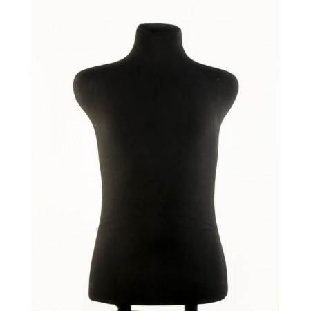 """Торс в ткани """"Пьер"""" (манекен портновский) размер 48, 50 для двойной подставки"""