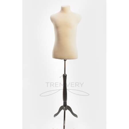 """Торс в ткани """"Пьер"""" (манекен портновский) размер 48, 50, 52"""