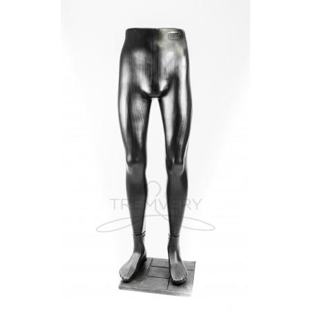 """Манекен ноги мужские """"Юра"""" к подставке (черные)"""