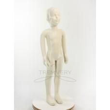 Манекен детский 1м белый матовый ( девочка)  в полный рост