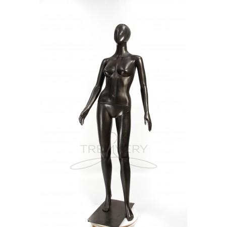 Манекен женский черный абстрактный в полный рост
