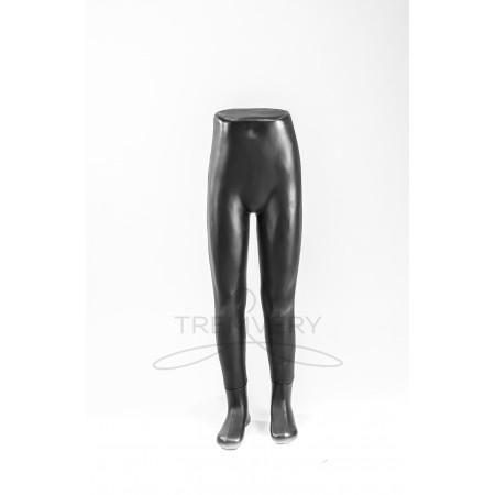 Манекен ноги детские (черного цвета)