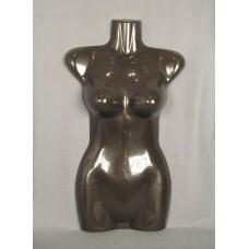 Манекен торс женский половина размер 42-44 черный