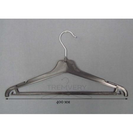 Вешалка костюмная для женской одежды ВКР-40упм (черный)