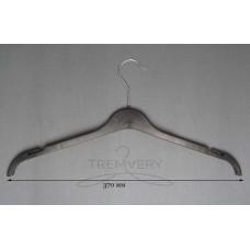 Вешалка для одежды трикотаж ВТ-37 (черный)