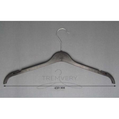 Вешалка для одежды трикотаж ВТ-45 (черный)
