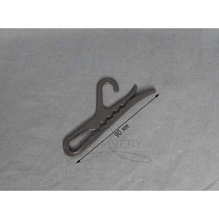 Вешалка крючок для носков (черный)